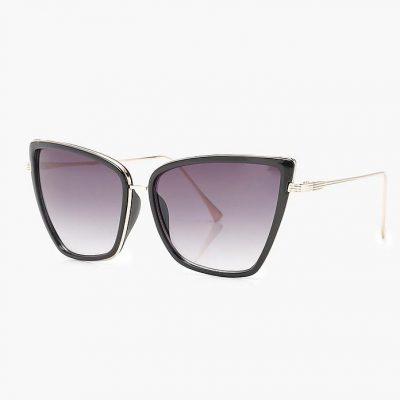 Sophie Black Cat Eye Sunglasses